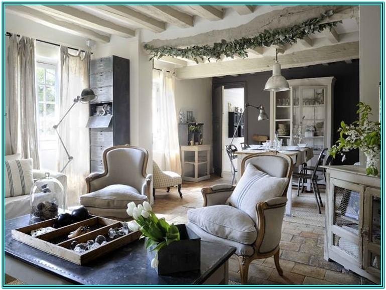 French Country Industrial Living Room Ideas