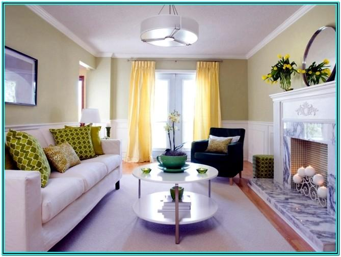 Fresh Living Room Colour Ideas