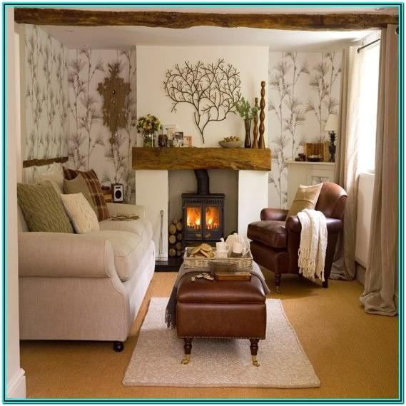 Grey Country Living Room Ideas