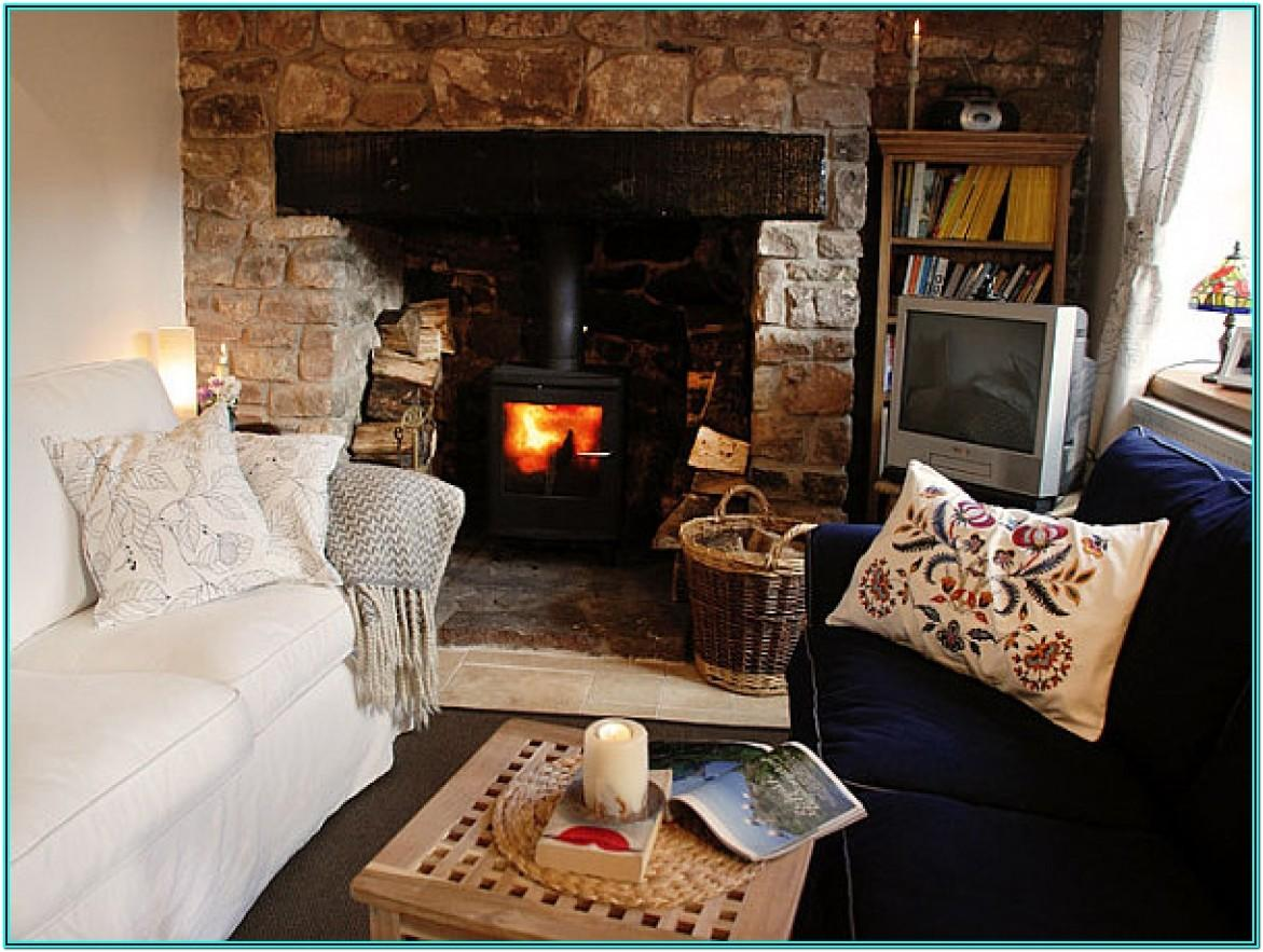 Living Room Country Cottage Decorating Ideas