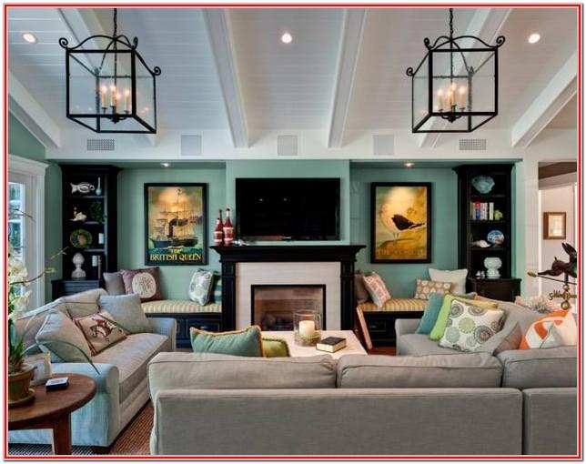 Living Room Design Ideas With Fireplace And Tv