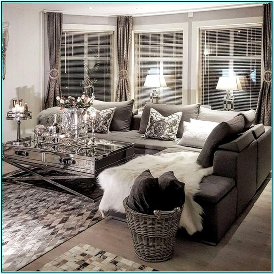 Neutral Grey Cosy Living Room Ideas