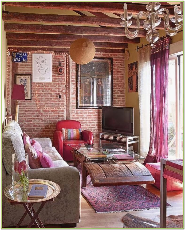 Bohemian Hippie Living Room Ideas
