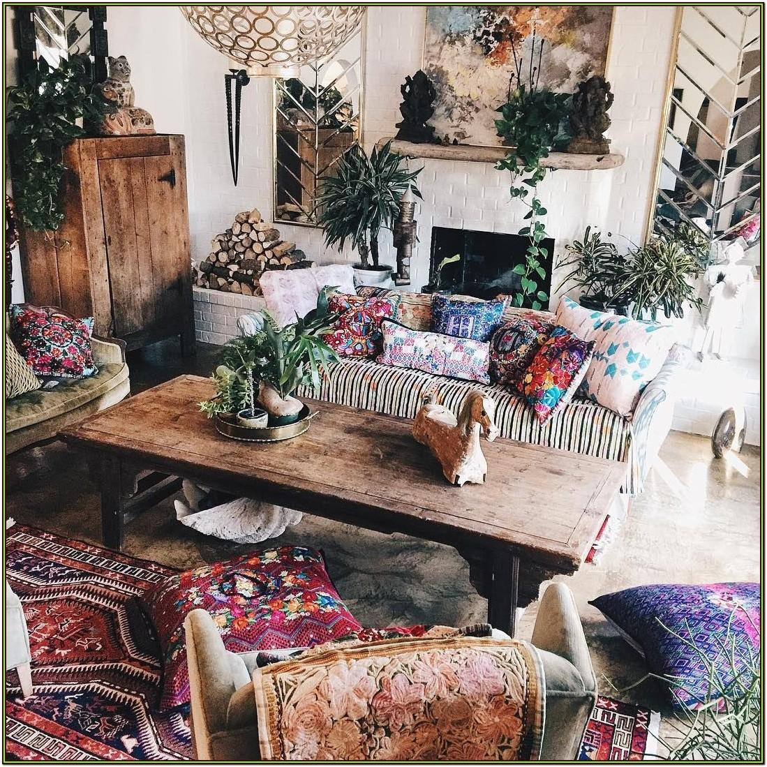 Boho Hippie Living Room Ideas