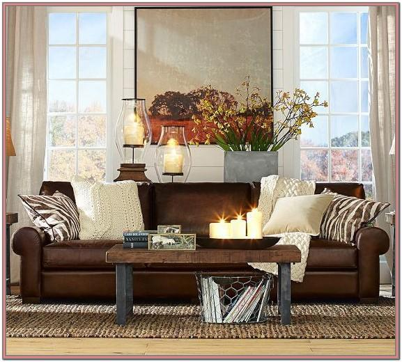 Brown Leather Sofa Ideas For Living Room