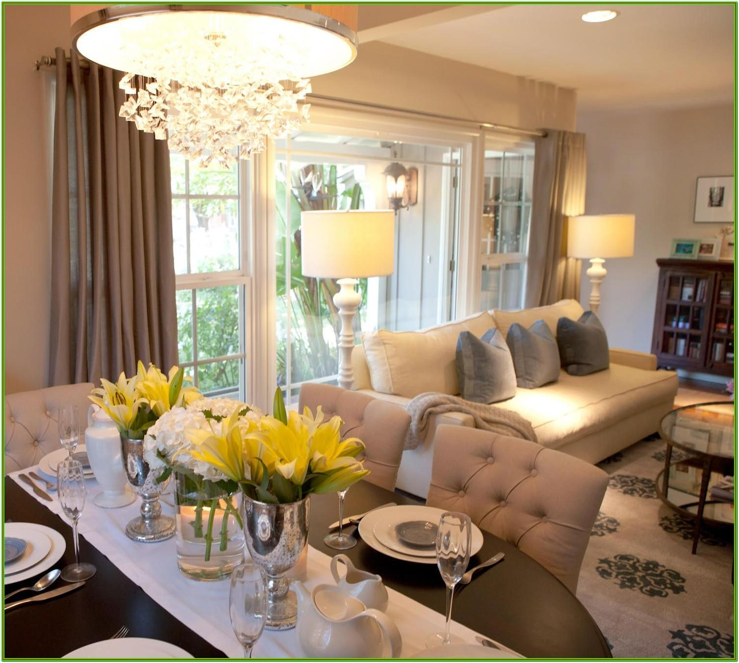 Combined Living And Dining Room Ideas