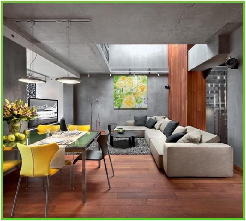 Concrete Living Room Ideas