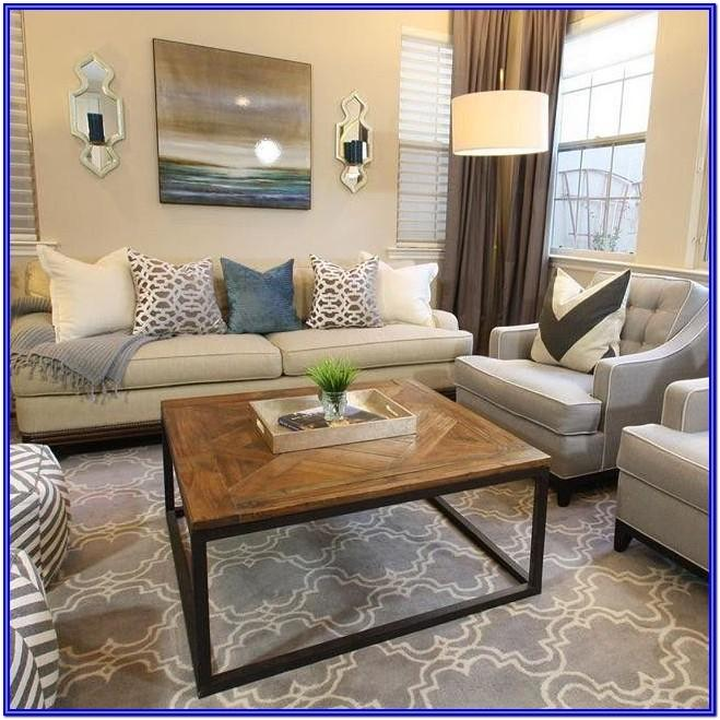 Gray And Ivory Living Room Ideas