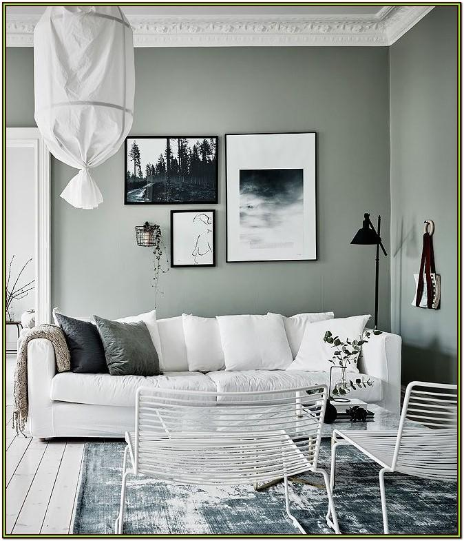 Grey White And Green Living Room Ideas