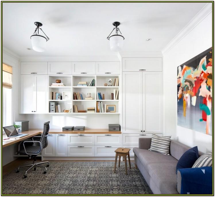 Home Office Space In Living Room Ideas