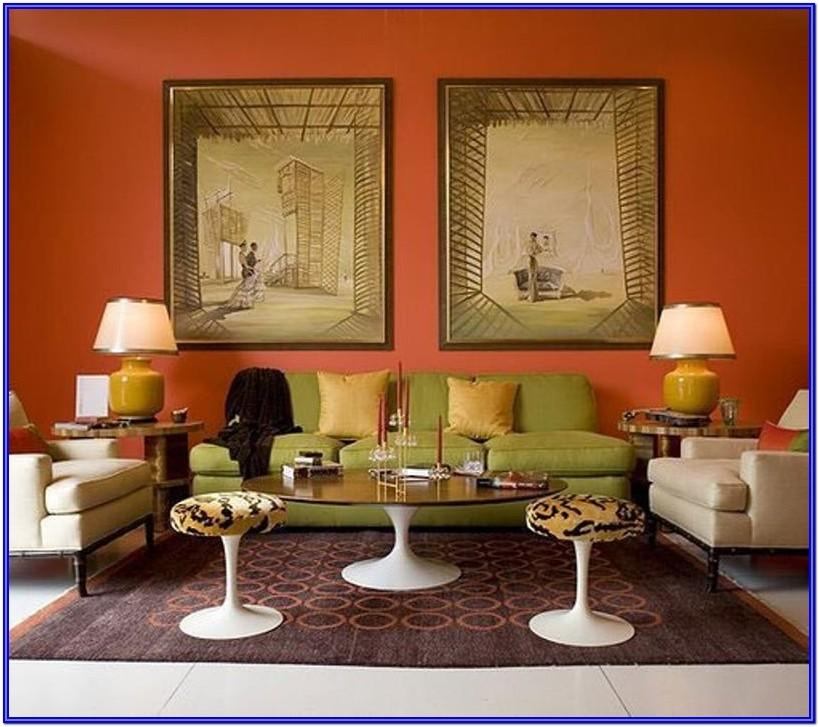 Interior Design Ideas Orange Living Room