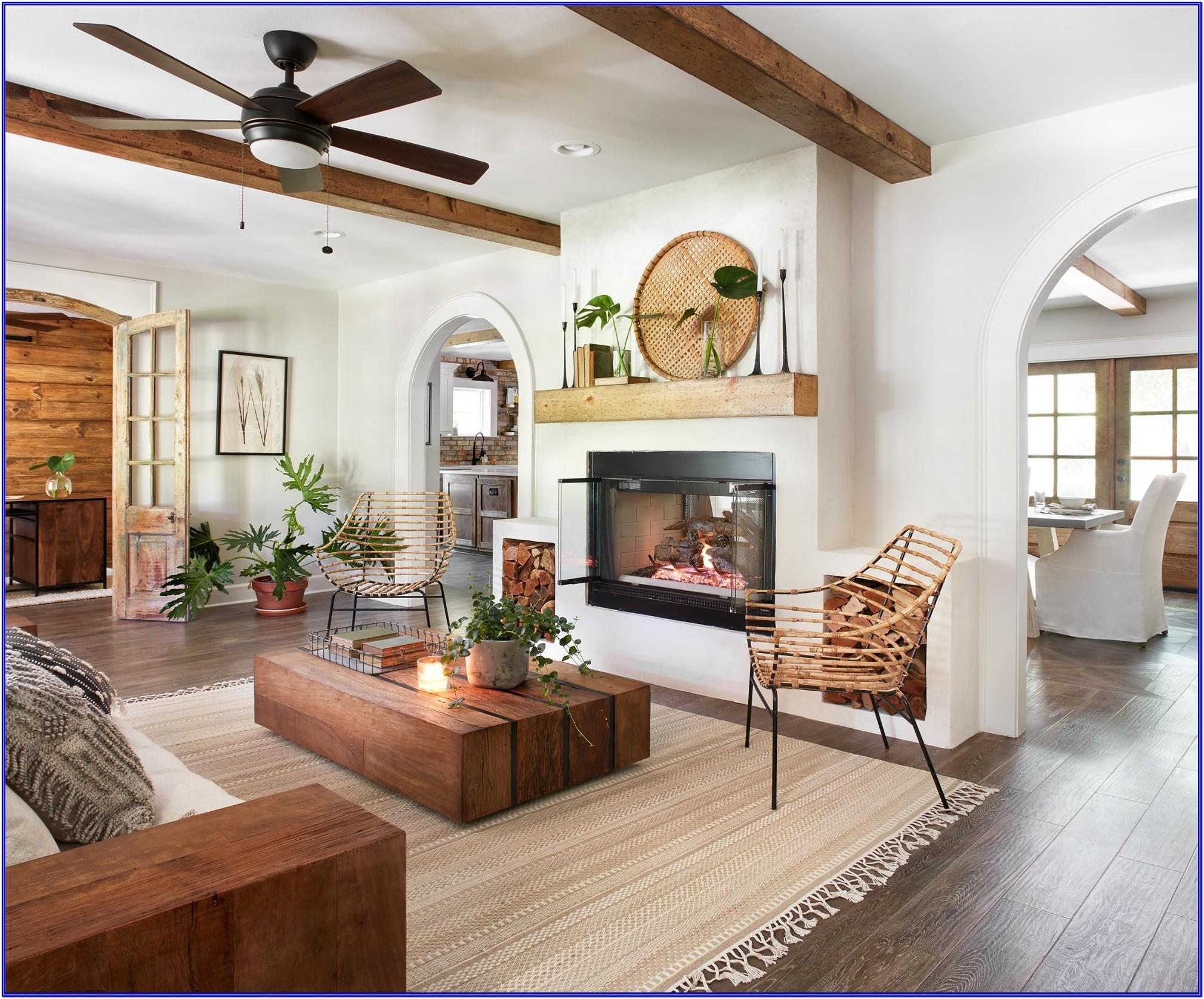 Joanna Gaines Living Dining Kitchen Room Ideas