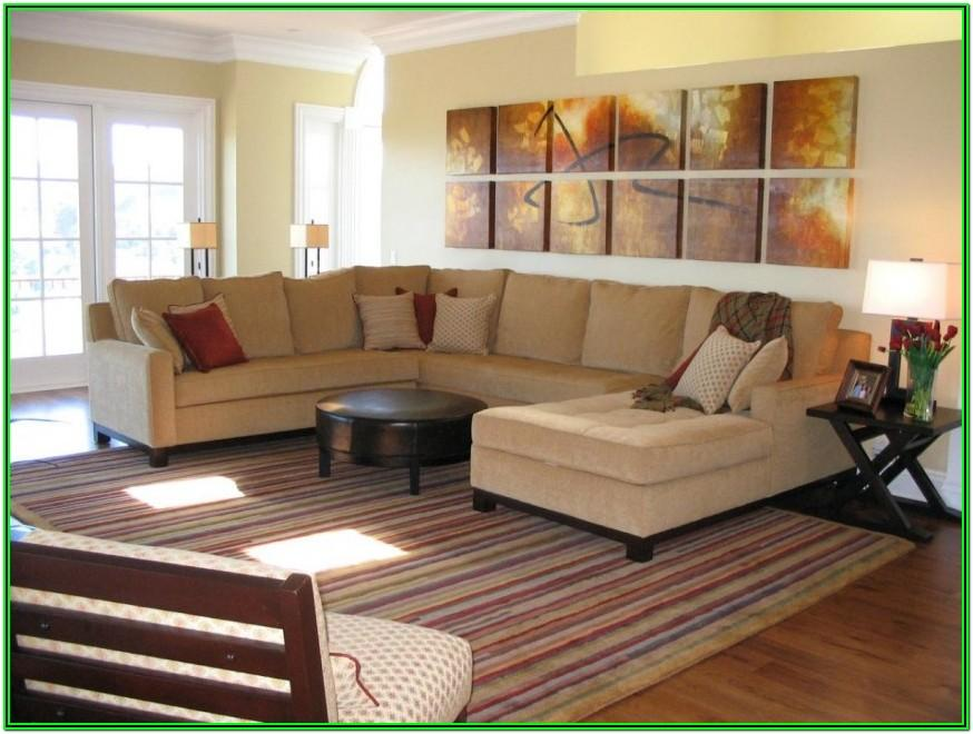 Large Living Room Furniture Ideas