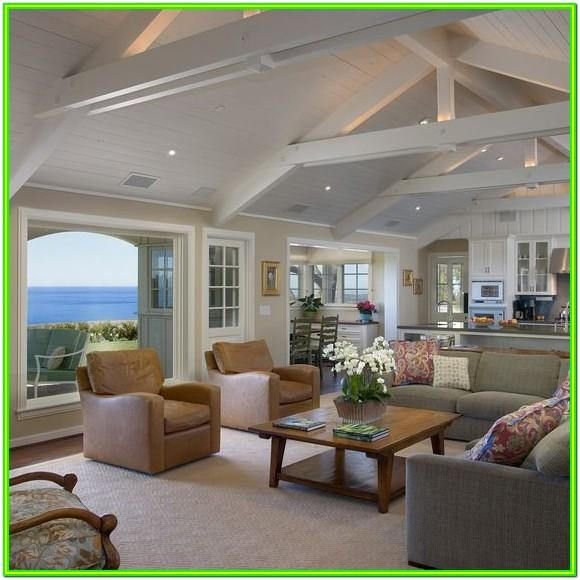 Living Room Cathedral Ceiling Ideas
