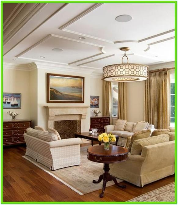 Living Room Ceiling Interior Design Ideas