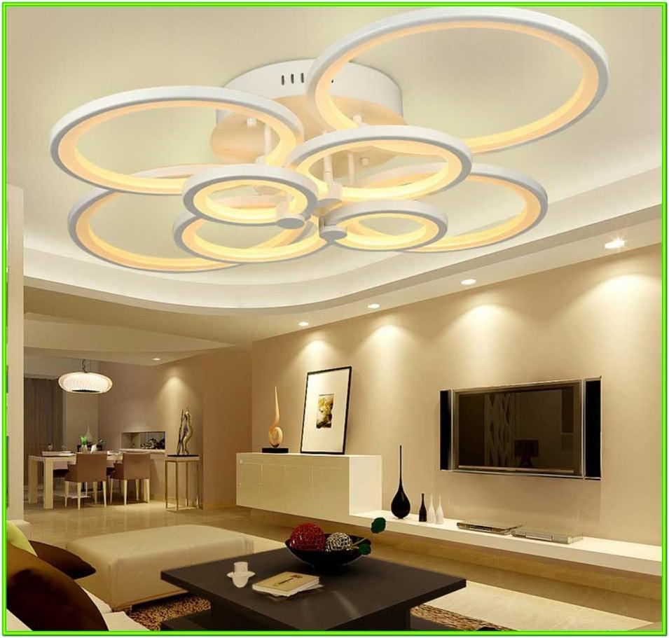 Living Room Ceiling Lamps Ideas