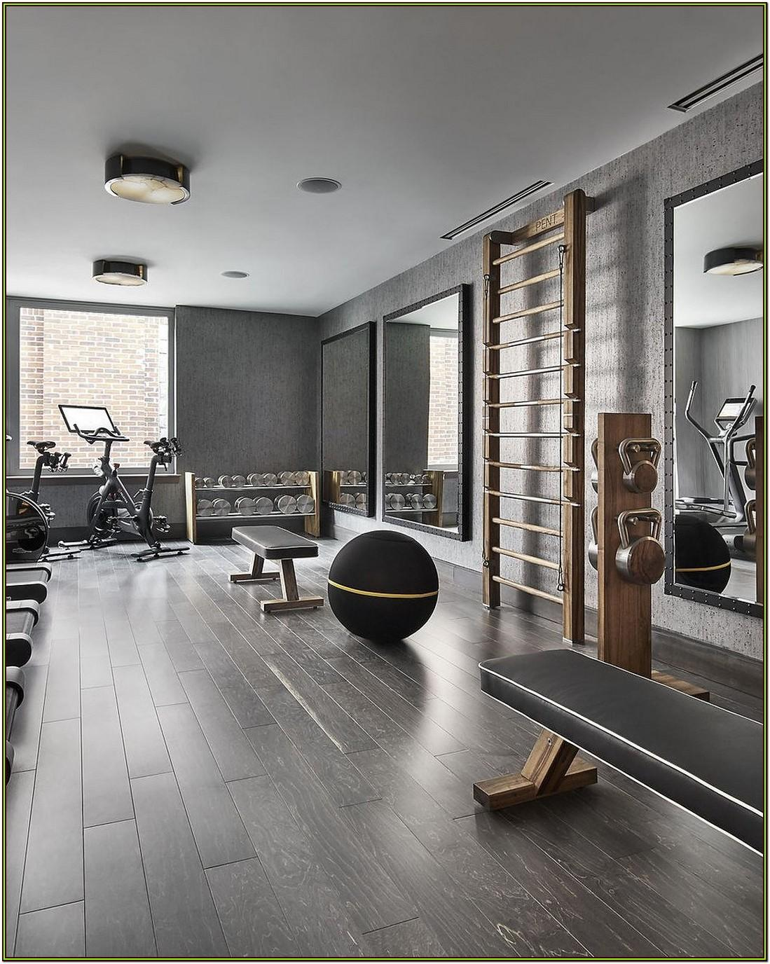 Living Room Home Gym Ideas